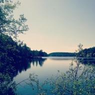 Lake in Oslo, Norway